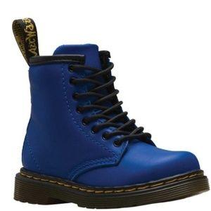 Dr. Martens Blue Boots Sz 1